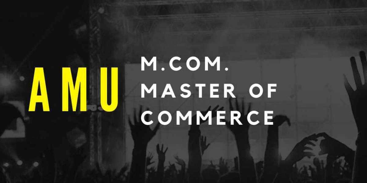 AMU Master of Commerce (M.com)