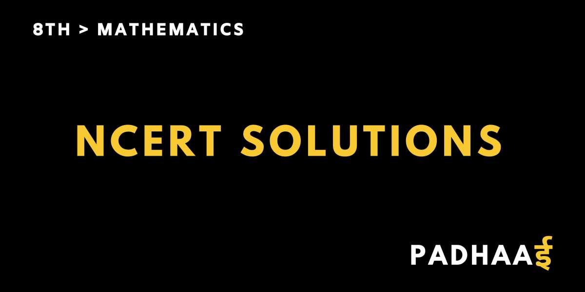 CBSE | NCERT solutions for class 8 Math